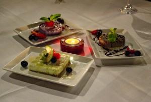 Cafe Americain desserts