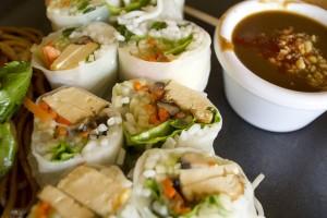 Buddha Salad Rolls