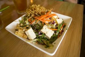 Ginger Sesame Tofu Salad