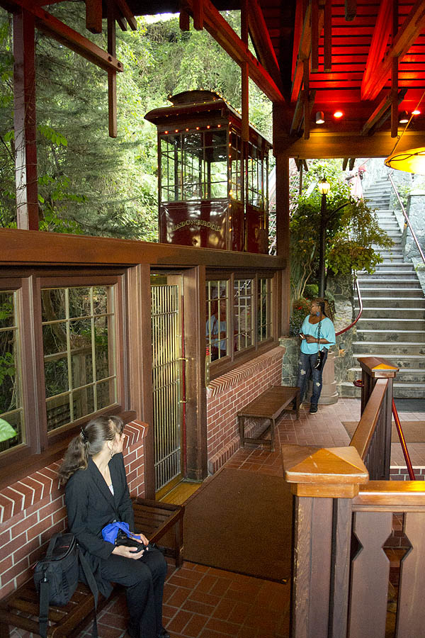 Take The Shadowbrook Railway Cable Car To Complete Your Dining Experience