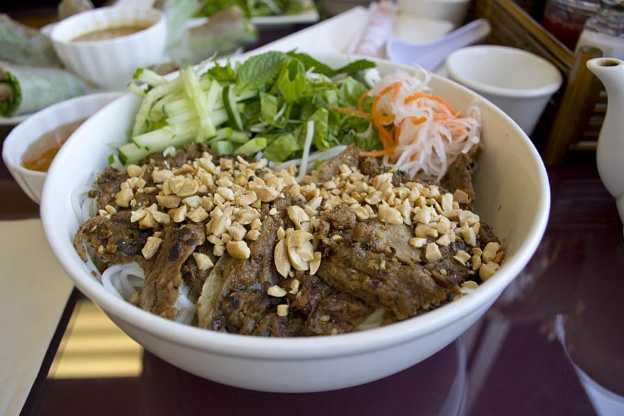 Heavenly Noodle Bún Nướng Hồng Ân